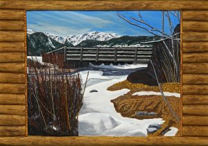 """Bridge over Mill Creek"" by Don Woodard"
